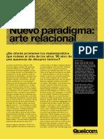 SS14_Nicolas Bourriaud_Nuevo paradigma_Arte relacional