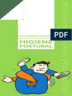 higiene postural recomendaciones preventivas