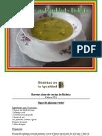 Bolivia - Distintos en la Igualdad - Recetas de Bolivia
