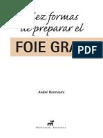 Diez formas de preparas el foie gras