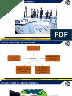 TEMA-mecanismos, contenidos y estructuras de los códigos deontológicos