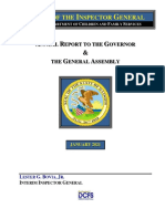 OIG Annual Report 2021 - DCFS