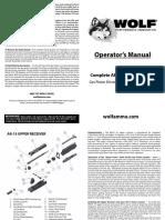 WOLF A1 Operator Manual