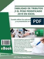 14.1 Resumen Ejecutivo - Contabilidad de Tributos Bajo el PCGE Modificado 2019 en Excel
