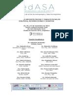 Programa II Jornadas REDASA de Antropología y Salud Con Resúmenes