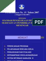 3. PERMENDIKNAS NO. 19 TAHUN 2007,18022008