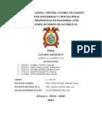 TRANAJO ENCARGADO DE LAVADO ASFALTICO FINAL.....