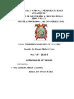 TRABAJO TALUDES-TITO CONDORI PERCY-IX-A-2020-2