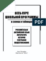 Русский Язык. Весь Курс Школьн. Прогр. в Схемах и Таблицах_2007 -95с