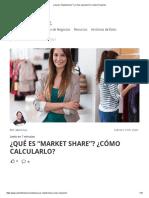 """¿Qué es """"Market share""""_ ¿Cómo calcularlo_ _ Camino Financial"""