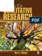 Harry Wolcott - Writing Up Qualitative Research-SAGE Publications, Inc (2009)
