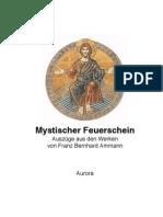 Mystischer Feuerschein von Franz Bernhard Ammann