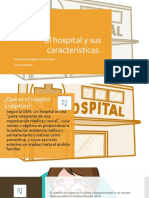 El Hospital y Sus Características