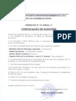Convocação de Eleições