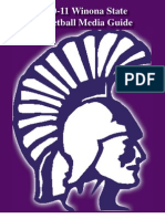 2010-11 Winona State Women's Basketball Media Guide