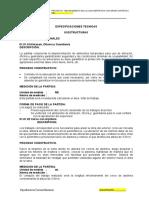 ESPESIFICACION TECNICA DE LOSA DEP. DE GRASS