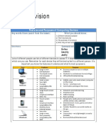 ICT Revision Input Output and Storage