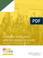 Convocatoria SECJOVEN PR2021