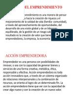 Innovación 5°- Tema cultura del emprendimiento