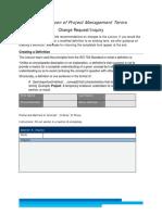 pmi lexicon change request