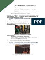 Décontamination et réhabilitation des transformateurs PCB