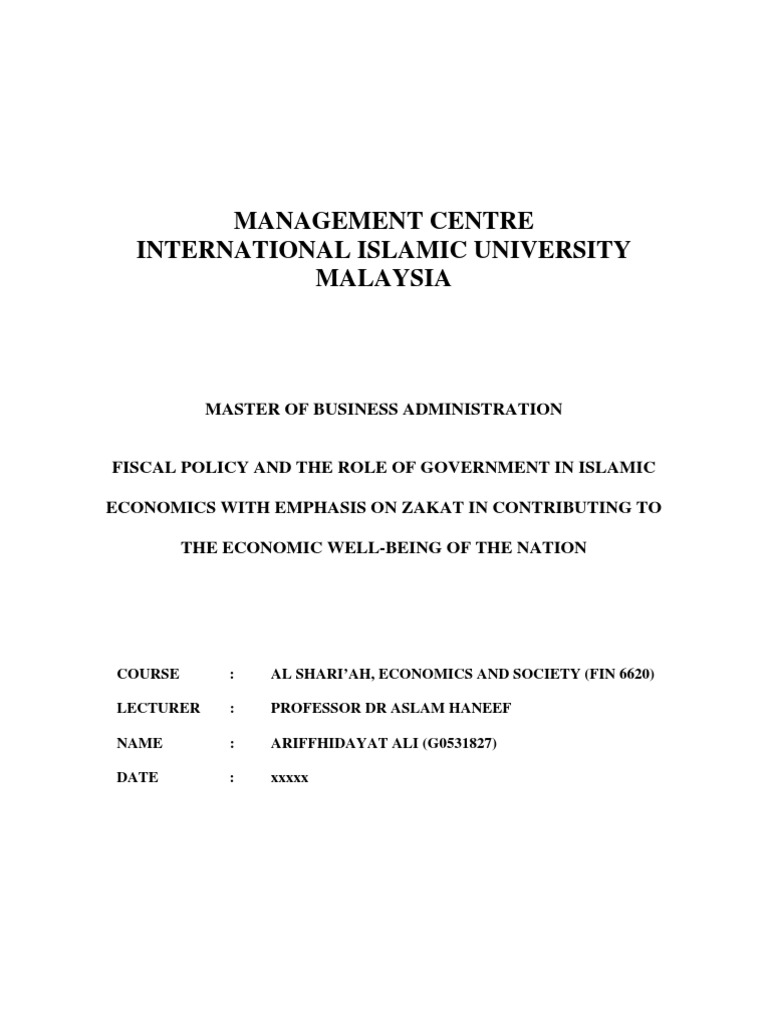 fiscal policy in malaysia