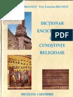 Ene Braniște, Ecaterina Braniște - Dicționar Enciclopedic de Cunoștințe Religioase (2001, Editura Diecezană) - Libgen.lc