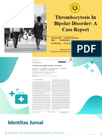 Thrombocytosis In Bipolar Disorder