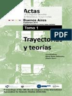 Actas  del 14º Congreso Mundial de Semiótica. Trayectorias | Proceedings of the 14th World Congress of the International Association for Semiotic Studies (IASS/AIS)