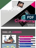 Mobile Computing MTECH