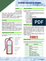 100310-FD-106 Extintores portátiles