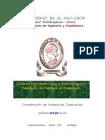 Criterios Admón. Trabajos de Graduación UES fmo