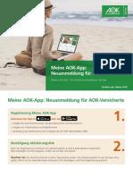 Z997 a iPad AOK APP Neuanmeldungen VII2019 FinalReader
