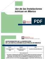 Inspeccion de las Inst  Electricas en Mexico