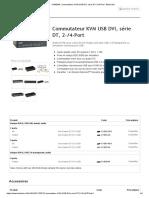 KV9604A, Commutateur KVM USB DVI, série DT, 2-_4-Port - Black Box