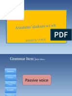 Endang Passive Voice