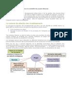 Critères de rentabilité des projets