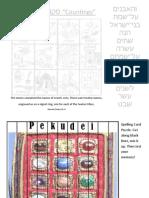Pekudei Hebrew Copywork and Activities