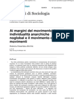 Ai margini del movimento