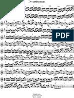 Divertimento Violino