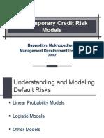 Credit Risks & Portfolio Selection