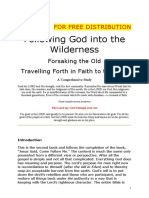 Following God Into the Wilderness