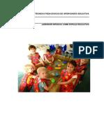 Manual jardim de infancia como espaço Educativo