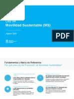 Proyecto de Ley Movilidad Sustentable