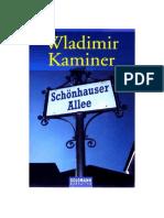 Kaminer Wladimir - Schoenhauser Allee