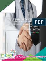 Informe Mecanismos Para Afrontar Riesgo Psicosocial Covid 19
