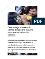 ALUCINAÇÃO COLETIVA - O ESTADÃO