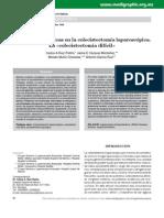 Dificultades Técnicas  en la Colecistectomía Laparoscópica