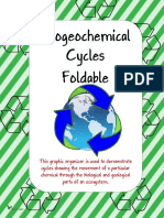 Bio Geo Chemical Cycles Foldable 1