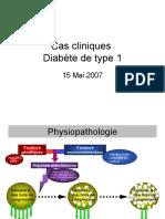 physiopatho diabete